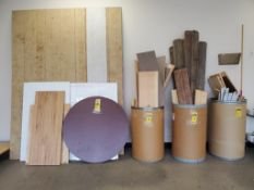 LOT OF ASSORTED CRAFT WOOD ***LOCATED AT 12850 DARICE PARKWAY, STRONGSVILLE, OH***