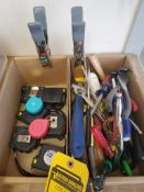 LOT OF ASSORTED TOOLS ***LOCATED AT 12850 DARICE PARKWAY, STRONGSVILLE, OH***