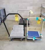 (3) PLASTIC ROLLING MATERIAL CARTS ***LOCATED AT 12850 DARICE PARKWAY, STRONGSVILLE, OH***