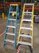 (2) 6' WERNER LADDERS ***LOCATED AT 12850 DARICE PARKWAY, STRONGSVILLE, OH***