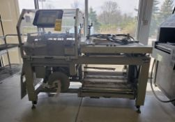 CLAMCO WRAPPING AND SEALING MACHINE; MODEL 6600, S/N 66058, SINGLE PHASE, 20-AMPS, 60-CYCLE ***