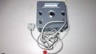 FOXBORO 8120-6 MAGNETIC FLOW CALIBRATOR 116/236V-AC