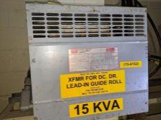 15 KVA FEDERAL PACIFIC TRANSFORMER FH15CFMD 3PH 460V