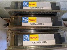 LOT OF 3 GE FANUC IC693ALG223C, IC693MDL734D, IC693MDL632D