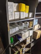 4 SECTIONS OF FACILITY LIGHTING PARTS AND SUPPLIES