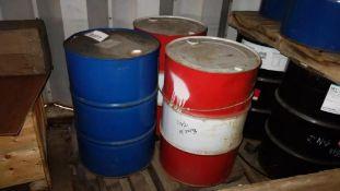 1 PALLET OF TRANSFORMER OIL BARRELS