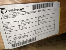 VALMET CAL2005436 CUTTING BLADE PAPER MILL