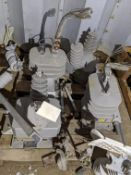 1 PALLET OF ABB VOLTAGE TRANSFORMERS AND OTHER PARTS