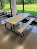 (6) FOLDING PICNIC TABLES, 72'' X 30''