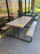 (6) FOLDING PICNIC TABLES, 56'' X 30'' & 72'' X 30''