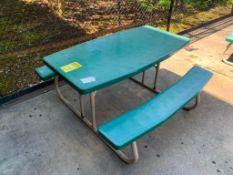 (6) FOLDING PICNIC TABLES, 56'' X 30''