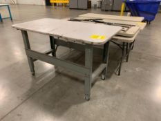(7) ASSORTED SIZE TABLES