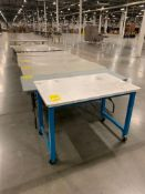 (10) ASSORTED SIZE TABLES