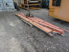 LOT OF ELECTRIC BUS RAIL FOR OVERHEAD CRANES
