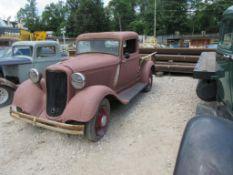 1935 DODGE PICKUP TRUCK, VIN# 803457, SUICIDE DOORS, ALL STEEL FRAME, (HAS TITLE)
