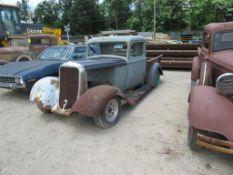 1933 DODGE PICKUP TRUCK, VIN# 8021990, SUICIDE DOORS, ALL STEEL FRAME, (HAS TITLE)