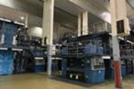 (4) TKS M-72 ELEVEN UNIT OFFSET PRINTING PRESSES W/TOP COLOR 6000 - SOME COMPONENTS REMOVED, (68)