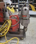 MILWAUKEE MAG DRILL; CAT #4292-1, S/N 0005047688, 375/750 MIN. RPM, 11.5 AMP, 120-VOLT, 60-HZ