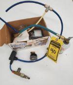 INTERDYNAMICS AUTO AIR CONDITIONER R-134A RETROFIT AND CHARGING KIT