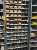 PIGEONHOLE CABINET WITH ASSORTED HARDWARE