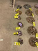 (6) ASSORTED LOGGING CHAINS