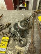 COFFING 1-TON CHAIN COME-ALONG