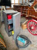 HEAVY DUTY TACK BOX, AND CIRCUITEER II HOT BLOWER-DRYER