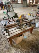 SHOPSMITH TABLE SAW, 36'' SLIDE ADJUSTMENT, MODEL 50803