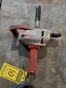 MILWAUKEE 1/2'' HEAVY DUTY DRILL, CAT# 1650-1, S/N 0142113971, 120-VOLTS, 6-AMPS, 450-RPM
