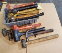 ASSORTED HAMMERS