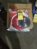 ASSORTED SAW BLADES, BAND SAW, TABLE SAW, AND CUT-OFF WHEELS