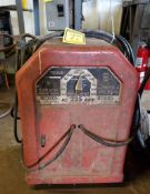 LINCOLN ARC ELECTRIC WELDER, MODEL AC-225-5, CODE 6304-006, SINGLE PHASE, 230-VOLTS, 50-AMPS