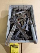 ASSORTED MACHINE WRENCHES