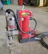 MILWAUKEE ELECTROMAGNET DRILL, CAT# 4221, S/N 0004996447, 12.5 AMP, 120-HZ