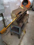 48'' SHEET METAL PAN & BOX BRAKE, MODEL 4816, 16 GAGE CAPACITY, 5/16'' MIN REVERSE BEND, 3'' BOX DEP