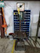 POWERMATIC VERTICAL DRILL PRESS, MODEL 1200, S/N 78-OV192, 270-3000 RPM, 18'' X 16'' TABLE