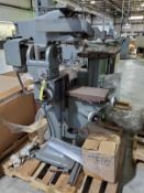 FRIEDRICH DECKEL HORIZONTAL PANTOGRAPH MACHINE, MODEL GK21, S/N 5984, DUAL TABLE, KNEE BED