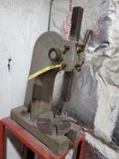 ARBOR PRESS ON STEEL STAND, 6'' THROAT