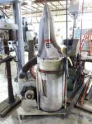 JET 1.5 HP PORTABLE DUST COLLECTOR, MODEL DC-1100A, SINGLE PHASE, ON TRANSFER CART