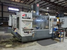 2010 HAAS VF3 CNC VERTICAL MACHINING CENTER, S/N 1081803, 48'' X 20'' TABLE, COOLANT SYSTEM, CAT/BT/