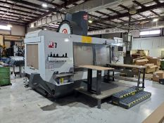 2013 HAAS VF7 CNC VERTICAL MACHINING CENTER, S/N 1104319, 84'' X 28'' TABLE, THROUGH SPINDLE COOLANT
