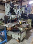 HURCOCNC VERTICAL MILLING MACHINE, POWER DRAW BAR, HIGH SPEED RPM, ULTIMAX SSM CNC CONTROL, 52-1/2'