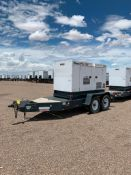 2013 MMD PG100DD 100 KVA TOWABLE GENERATOR, ISUZU DIESEL ENGINE, UNIT# NA-1538B10168, VIN#