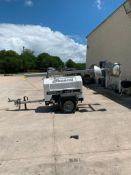 2012 ALLMAND 8 KW TOWABLE LIGHT TOWER, UNIT# LT-2951PRO212,KUBOTA DIESEL ENGINE, 5,694HOURS INDICA