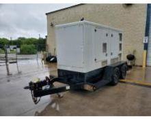 2014 HI POWER PG165NG/LPG 165 KVA TOWABLE GENERATOR, UNIT# NB-41400241, DOOSAN/PSI ENGINE, 18,354