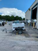 2012 ALLMAND 8 KW TOWABLE LIGHT TOWER, UNIT# LT-2470PRO212, KUBOTA DIESEL ENGINE, 7,081HOURS INDICA
