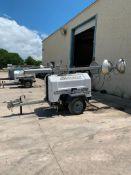 2012 ALLMAND 8 KW TOWABLE LIGHT TOWER, UNIT# LT-1902PRO212, KUBOTA DIESEL ENGINE, 15,296HOURS INDIC