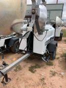 2012 ALLMAND 8 KW TOWABLE LIGHT TOWER, KUBOTA DIESEL ENGINE, UNIT# LT-1205PR0212