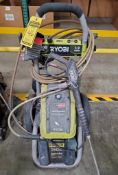 RYOBI PREMIUM ELECTRIC PRESSURE WASHER; 3,000 PSI, 1.2 GPM
