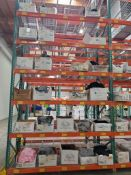 CONTENTS OF PALLET RACK (ONLY) - ASSORTED SIZES, COLORS, STYLES, AND BRANDS - BRANDS: FRUIT OF THE L